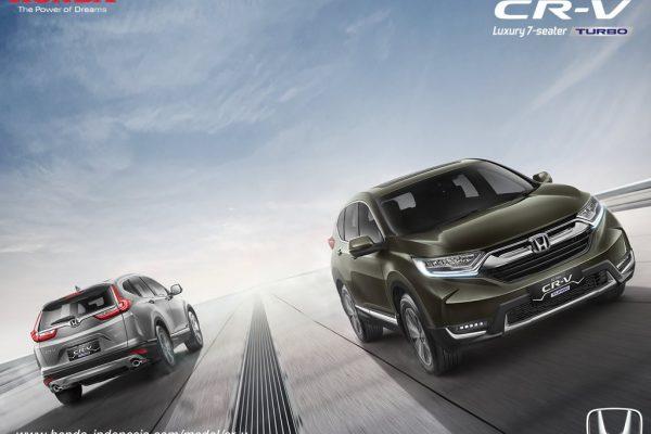 All New Honda CR-V 1.5L Turbo Raih Penghargaan Mobil Terbaik 2017
