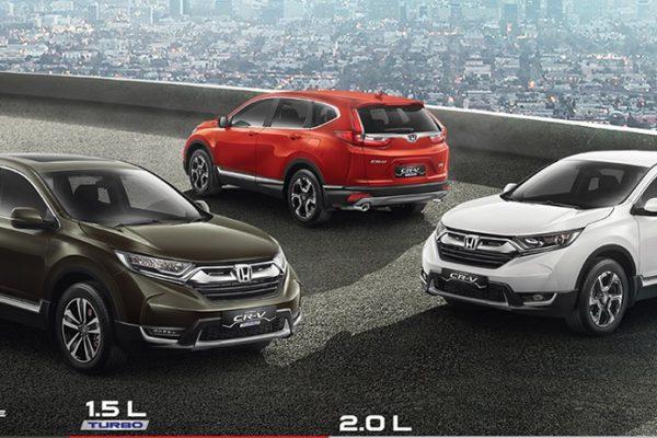 Spesifikasi Honda CR-V Pati